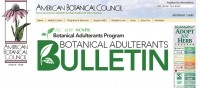 New 'Botanical Adulterants Bulletins' series launched to help raise awareness of herb adulteration