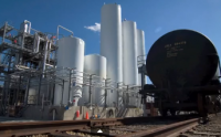 Organic Technologies uses a dedicated rail fleet to bring its oil to Ohio for refining.