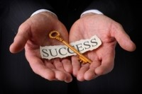 Perhaps indicative of the problem, many stock photos on the subject of 'success' feature men.  iStock photo.