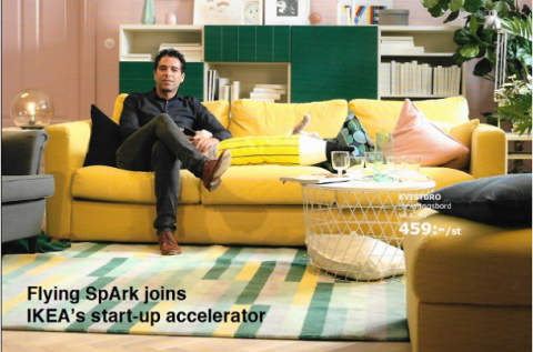 IKEA backs Flying SpArk?s bet that fruit flies are the protein source of the future