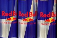 One 8.4 fl oz can of Red Bull Energy Drink contains 80 mg of caffeine